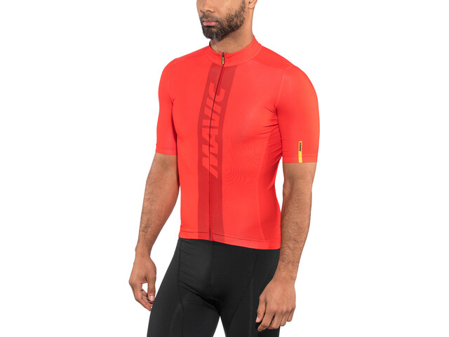 Mavic Cosmic Maillot de cyclisme Homme, fiery red